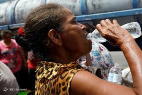بحران آب پس از طوفان ماریا در آمریکا