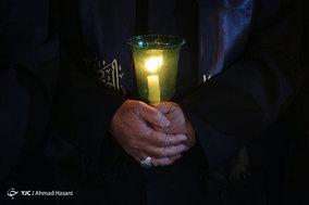 آیین خطبه خوانی شب عاشورا در حرم مطهر امام رضا (ع)