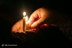 آیین شام غریبان در حرم مطهر امام رضا (ع)