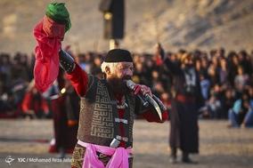 اجرای نمادین واقعه ی عاشورا در شهرستان مبارکه-اصفهان