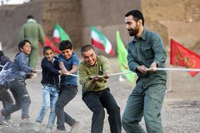 اردوی جهادگران حسینی،فرزندان خمینی در روستای محروم زرندیه