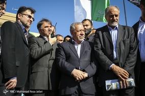 سفر وزیر راه و شهر سازی به اصفهان