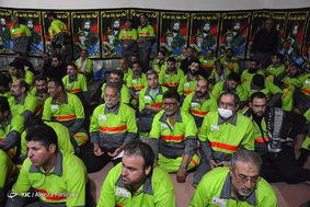 بازدید رئیس شورای شهر تهران از خدمات شهرداری تهران در نجف