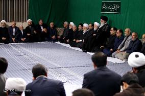 مراسم عزاداری اربعین حسینی با حضور هیئتهای دانشجویی در حسینیه امام خمینی(ره)