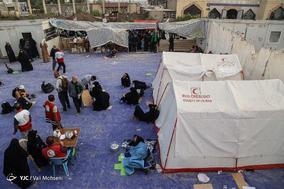 خدمات هلال احمر در پیاده روی اربعین به زائران حسینی