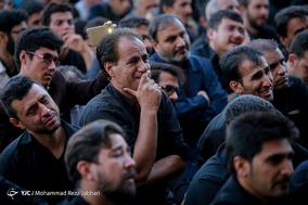 مراسم تشییع پیکر دو شهید مدافع حرم در مسجد جمکران