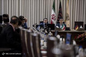 نشست مشترک قائم مقام وزیر انرژی آلمان با مدیر عامل شرکت راه آهن ایران