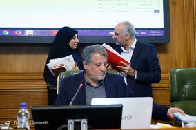 جلسه ی شورای شهر تهران