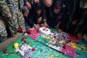 تشییع پیکر دو شهید مدافع حرم در مشهد
