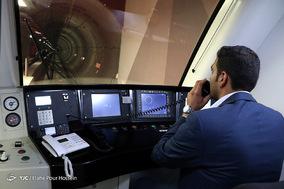 افتتاح ایستگاه رازی خط یک مترو با حضور دکتر نوبخت در شیراز
