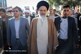 تظاهرات گزاران قم در محکومیت انتقال پایتخت رژیم صهیونیستی به بیت المقدس