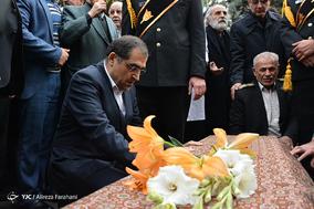 مراسم تشییع پیکر دکتر علیرضا یلدا