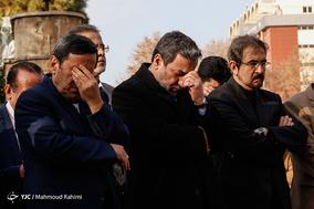 تشییع پیکر دیپلمات شهید حمیدرضا محمدیان