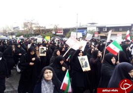 راهپیمای مردم گلستان علیه فتنه گران