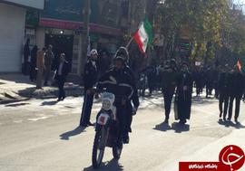 حضور مردم خرم آباد در راهپیمایی ۱۳ دی