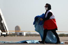 مانور طرح اظطرار در فرودگاه بین المللی کیش