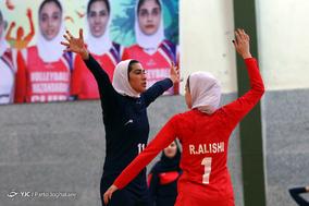 دیدار تیمهای والیبال بانوان بهنمیر مازندران و شهرداری تبریز