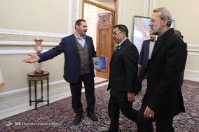 دیدارهای امروز رییس مجلس شورای اسلامی