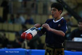 مسابقات قهرمانی پهلوانی و زورخانه ای نوجوانان