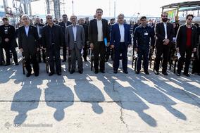 افتتاح پروژه بهینهسازی و نوسازی انبار نفت ری