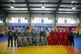 فینال مسابقات کشتی محلات مشهد