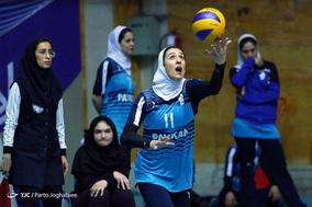 دیدار والیبال بانوان پیکان و شهرداری تبریز