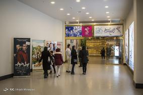 صف های فروش بلیط سی و ششمین جشنواره فیلم فجر