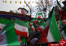 حضور تماشایی مردم گلستان در جشن انقلاب