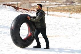 تفریحات زمستانی در اراک