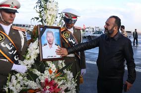 ورود پیکر مطهر سه تن از جانباختگان حادثه کشتی سانچی به کشور