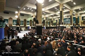 دومین شب مراسم عزاداری ایام شهادت حضرت فاطمهزهرا(س) با حضور رهبر معظم انقلاب