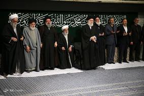 آخرین شب عزاداری ایام شهادت حضرت فاطمهزهرا(س) با حضور رهبر معظم انقلاب