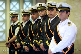 مراسم چهلمین روز شهدای کشتی سانچی