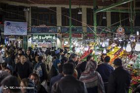 بازار تجریش در آستانه شب عید نوروز