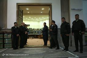 مراسم بزرگداشت شهدای حادثه اغتشاش دراویش در پاسداران