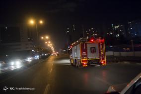 شب چهارشنبه سوری با مامورین آتش نشانی