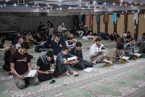 آیین معنوی اعتکاف در مسجد قدس