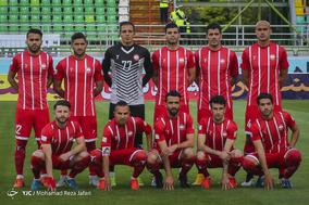 دیدار تیمهای فوتبال ذوب اهن و سپیدرود