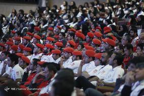 مراسم تقدیر از امدادگران، داوطلبان و جوانان هلالاحمر