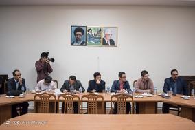 نشست خبری سفیر فلسطین در تهران