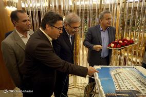افتتاح دو طرح عمرانی در جزیره کیش