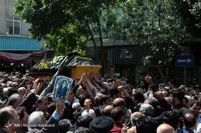 مراسم تشییع حجتالاسلام سید مهدی طباطبایی