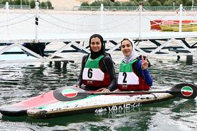 تمرین تیم ملی کانوپولو بانوان ایران