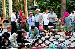 مراسم محفل انس با قرآن در جوار آرامگاه حافظ شیرازی