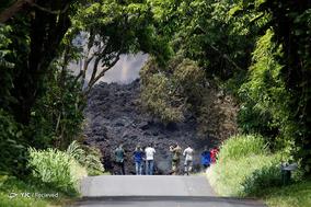 فوران آتشفشان کیلاویا در هاوایی
