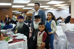 ضیافت افطار به میزبانی شورای خلیفه گری ارامنه