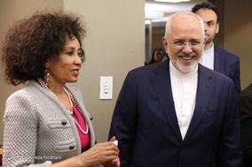 دیدار وزرای خارجه ایران و آفریقای جنوبی