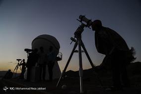 استهلال ماه شوال درپایگاه مراقبت فضایی امام جعفرصادق(ع)