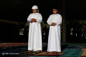 نماز عید فطر در منطقه سنی نشین جزیره کیش