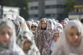 اقامه نماز عید فطر در شهرک اکباتان